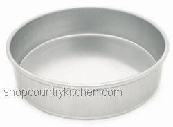 8x2 Round Pan