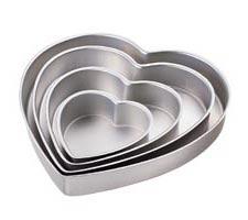 Heart Pan Set