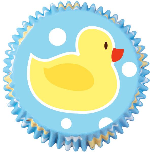 Ducky Mini Baking Cups