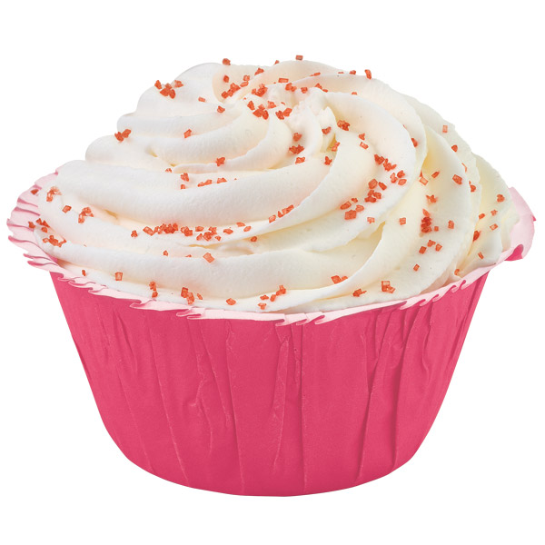 Rose Ruffled Baking Cups