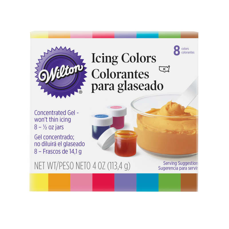 Icing Colors - 8 Color Set