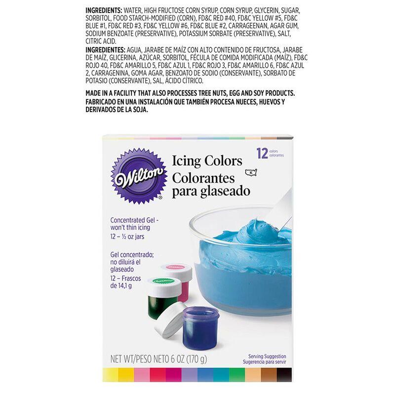 Icing Colors - 12 Color Set