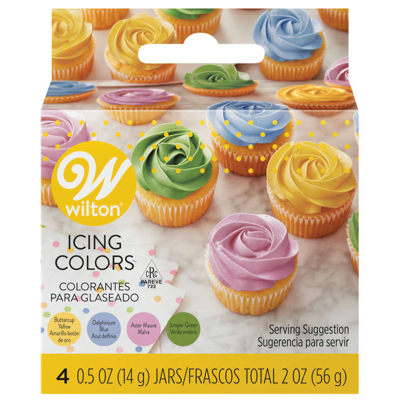 Icing Colors - Garden Tone 4 Color Set
