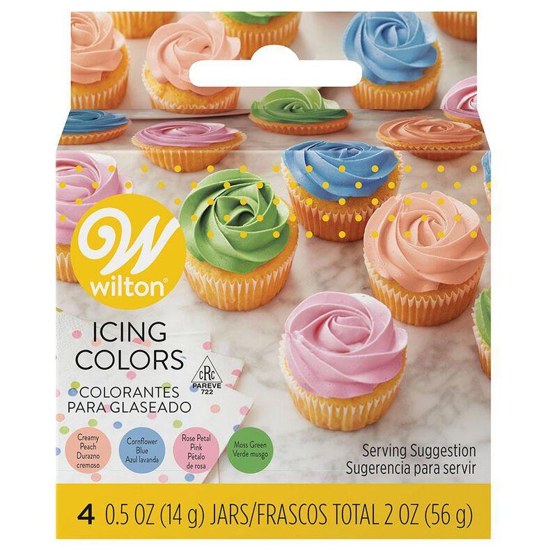 Icing Colors - Pastel 4 Color Set