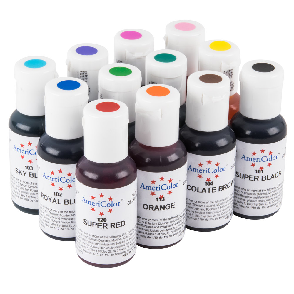 FOOD COLORING AND ICING COLORS