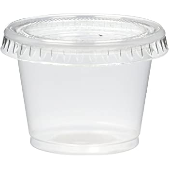 DISPOSABLE PORTION CUPS AND SPOONS