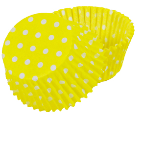 POLKA DOT BAKING CUPS