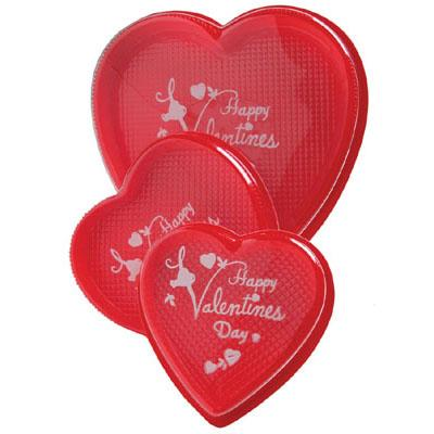Red Heart Box w/Happy Valentines Day  - 4oz