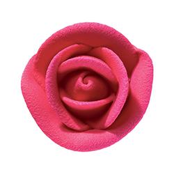 Royal Icing Roses - Medium Fuchsia