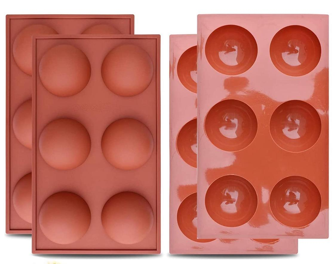 """Sphere Silicone Mold -  2.75"""" (Chocolate Bomb Mold) - IN STOCK TODAY!"""