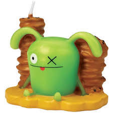 Novelty Clearance - Ugly Doll Birthday Candle