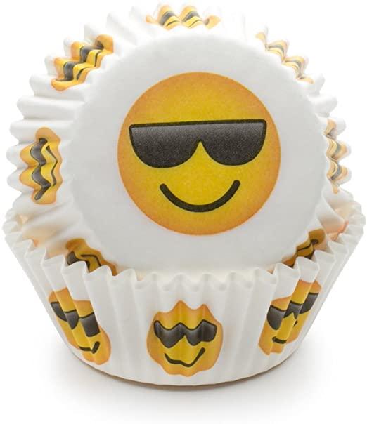 Emoji - Sunglasses Baking cups