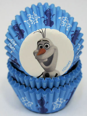 Mini Olaf Cupcake Baking Cups