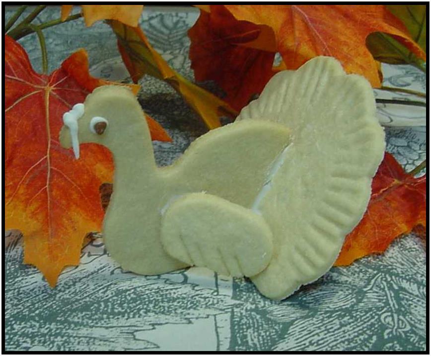 Turkey Cookie Cutter - 3-D