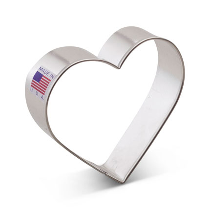 Heart Cookie Cutter - 3 3/8""