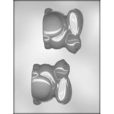 """3D Bunny Chocolate Mold - 3.5"""""""