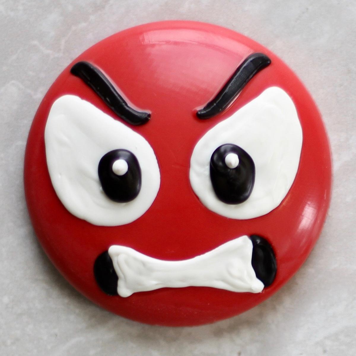 Angry Emoji Chocolate Mold