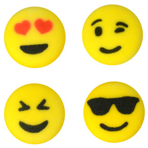 Emoji Sugar Decorations-Discontinued 4/23/21