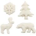 Arctic Animals Sugar Decorations