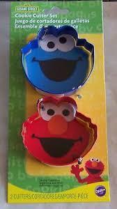Sesame Street Cookie Cutter