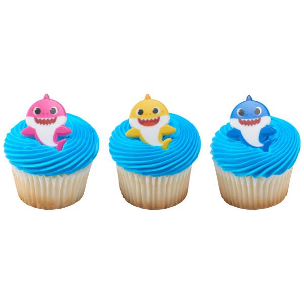Baby Shark Cupcake Rings