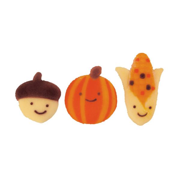 Autumn Friends Asst Sugar Decorations