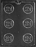 #21 Cookie Chocolate Mold