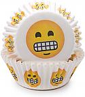 Emoji - Grinning Baking cups