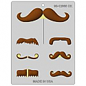 Mustache Styles Assortment Chocolate Mold