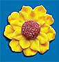 "Sunflower - Small - 1 1/8"""