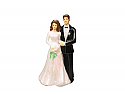 Bride and Groom Cake Topper - 5""