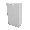 Medium White Paper Bag - 4LB
