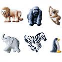 Mini Zoo Animals Asst. Sugar Decorations -DISCONTINUED 2-4-21