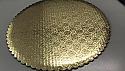 """Gold Cardboard Round - 10"""""""