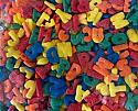 Alphabet Shapes Quins 3 oz.