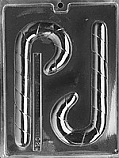 Candy Cane Chocolate Mold