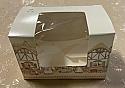 """2.5"""" x 3.5"""" x 2.25"""" Small Window Bunny Village Box"""