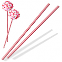 "6"" Pink Sticks"