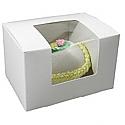 1 lb. Window Egg Box : 5-1/2 x 4 x 3-1/2