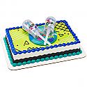 Confetti Launcher Cake Topper