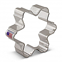 """Snowflake - 3 1/4"""" Puffy Cookie Cutter"""