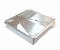 10x10x2 Square Loose Bottom Pan