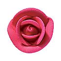 Royal Icing Roses - Small Fuchsia