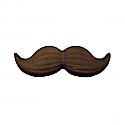 Black Mustache Sugar Decorations