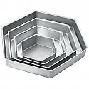 """Rental Item - Hexagon Pan - 6"""""""