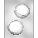 3D Clam Shell Chocolate Mold - 4.25""