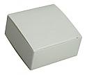 Truffle Box: 2 1/2 x 2 1/2 x 1 1/8 in.