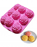 Large Rose Silicone Mold