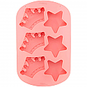 Crowns and Stars Silicone Mold