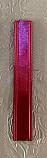 Double Wire Metallic Red Twist Ties